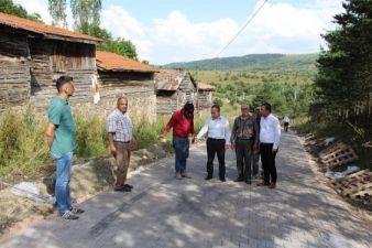 Kaymakamlık'dan Köylere Kilitli Parke Taşı Desteği